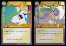 My Little Pony Princess Celestia, Hoof Shaker Canterlot Nights CCG Card