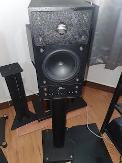 Celestion 700 Bookselves speaker c/w stand (Used) Celestion2%2B%25282%2529