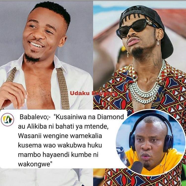 """Baba Levo """"Msanii Kusainiwa Na DiamondPlatnumz Au Alikiba Ni Bahati Ya Mtende"""
