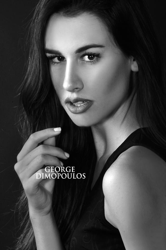 ΦΩΤΟΓΡΑΦΙΣΗ MODEL BOOK ΣΤΟΥΝΤΙΟ ΜΟΝΤΕΛΑ Fashion Model Photoshoot by George Dimopoulos
