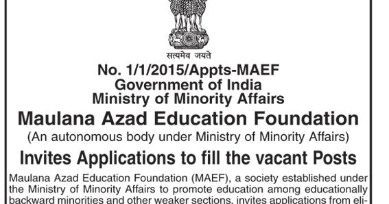 Bonala Kondal: Maulana Azad Education Foundation