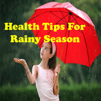 monsoon tips for healthy life