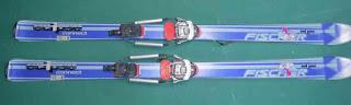 まったく古くなってしまったスキー板 FISHER eclipse connect
