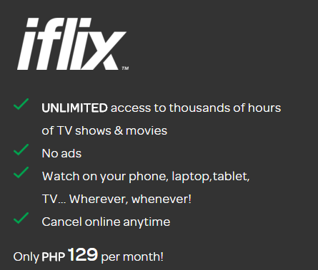 Netflix vs iflix in the Philippines : Content and Plan Price