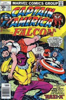 Captain America and the Falcon #211