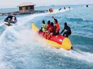 DP bbm wisata banana boat