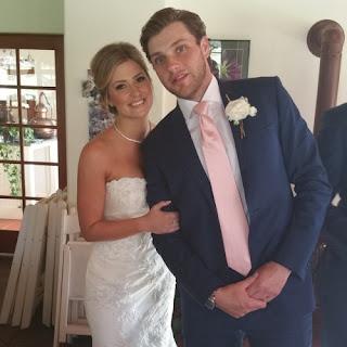 The Ryans On Their Wedding Day