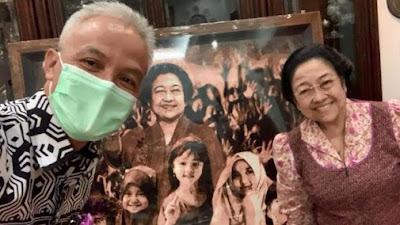 Ganjar Pamer Kedekatan dengan Megawati, untuk Tangkal Isu Pengucilan?