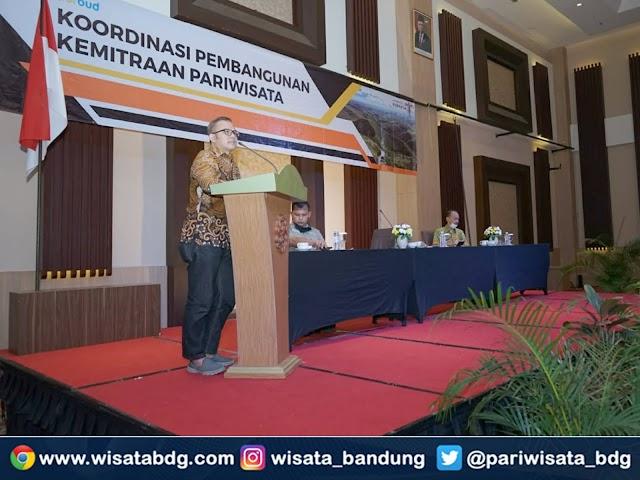Disparbud Kabupaten Bandung Sosialisasikan Aplikasi Bandung Enjoy, Destination, and Nature