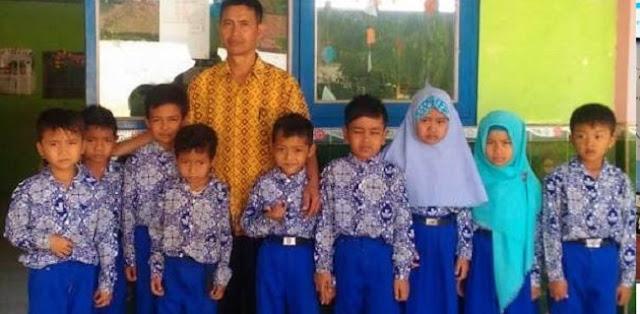 Gagal Jadi PNS, Guru SD Ini Minta Kambing Kepada Presiden Jokowi