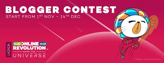 Lazada Online Revolution Blogger Contest.