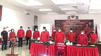 PDIP Sumut Gelar Rakor Pemenangan Pemilu 2024, Hasto: Jaga Soliditas Kader!