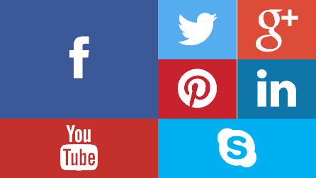 Metro Style Social Widget Design - jQuery 2 DotNet
