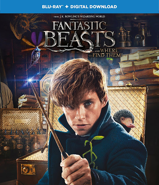 Fantastic Beasts and Where to Find Them Blu-ray & Digital Download