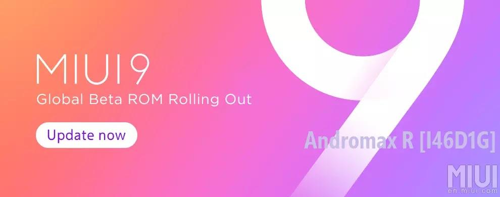 Miui 9 Beta Rom Andromax R