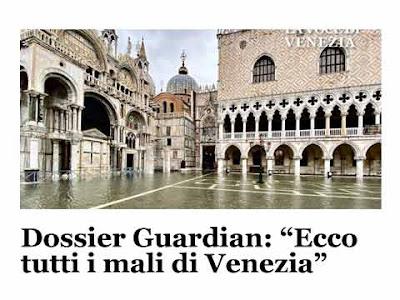 Piazza San Marco sott'acqua su ''La Voce di Venezia''