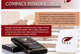 Exclusive Compact Powder SR12 Herbal Skincare Membantu Bekas Jerawat Bandel