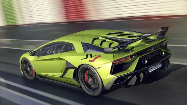 El Lamborghini Aventador SVJ 2019