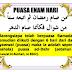 Hukum Menggabungkan Puasa Enam dan Puasa Qadha di Bulan Syawal Serentak