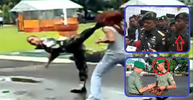 Mantap Jiwa...! Sekali Tendang, Perampok BERPISTOL Penembak Polisi Itu Langsung TEWAS di Kaki Sang PRAJURIT...!