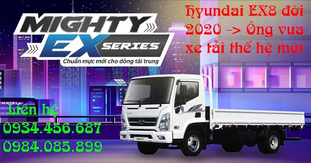 uu diem hyundai mighty ex8 the he moi