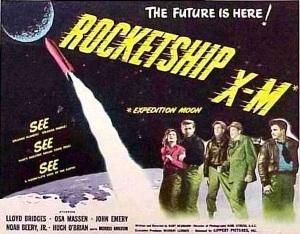 Az XM űrhajó, űrhajós sci-fi 50-es évek