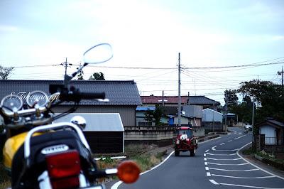 SR400 YAMAHA バイク 日本の風景