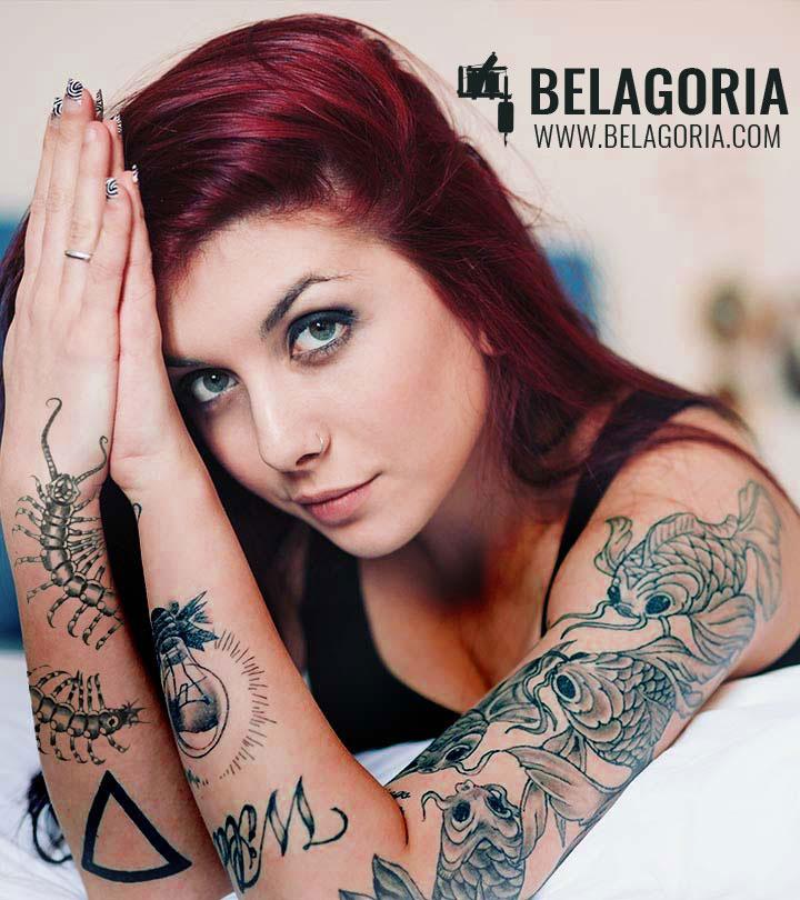 Tatuaje de cienpies