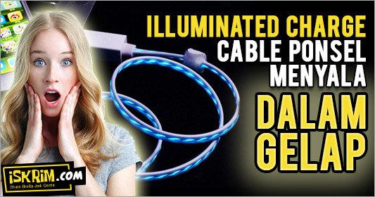 Illuminated Charge, Kabel Ponsel yang Menyala Dalam Gelap