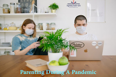 The role of parents during a pandemic, the requirements of self-isolation, Access to free resources, learning can be fun!