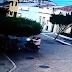 Imagens de câmeras de segurança flagram ação de dois homens no homicídio de jovem mototaxista em São Mamede