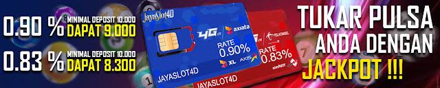 Jayaslot4d Judi Deposit Pulsa