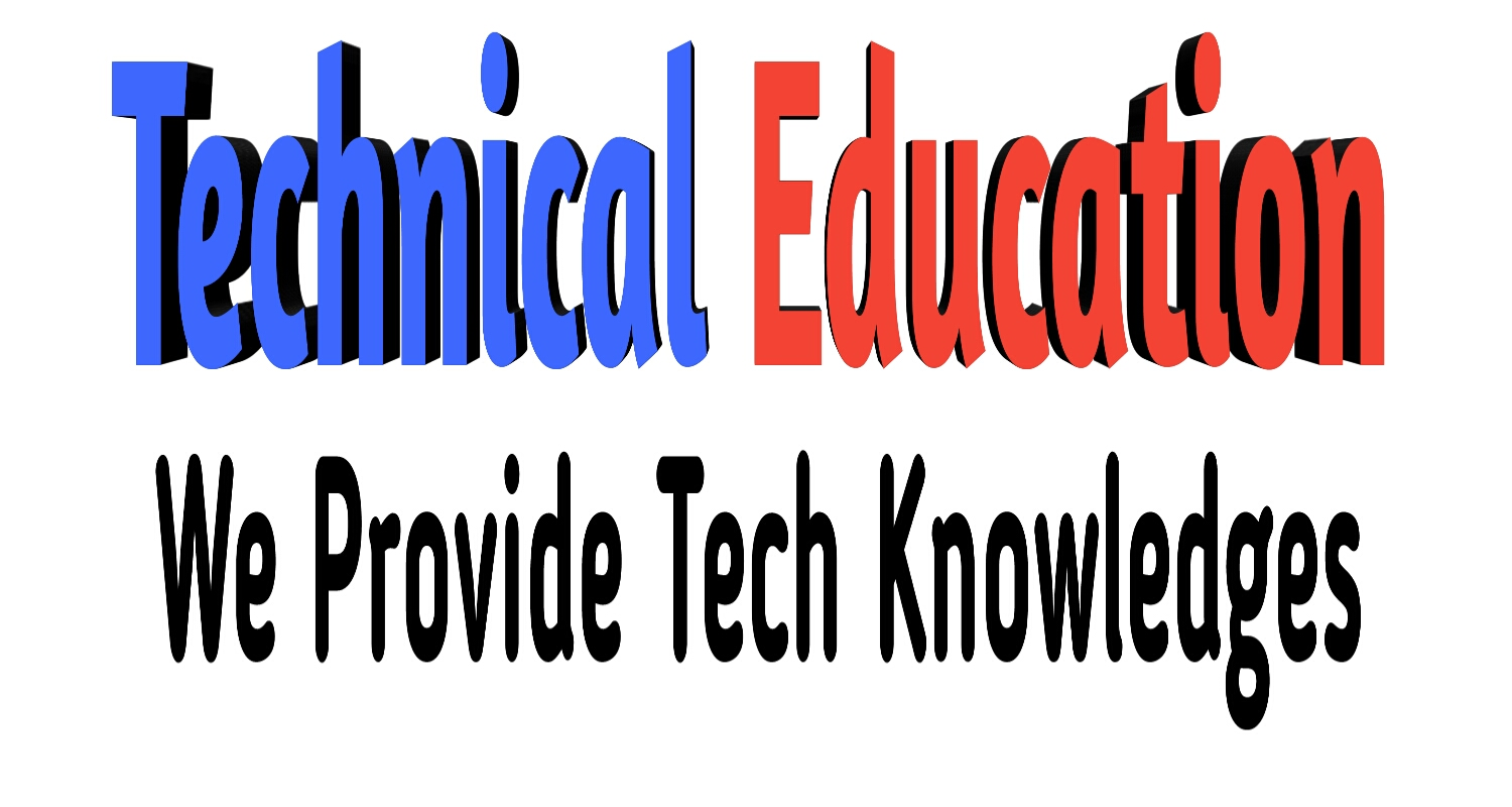 Technical Education -  We provide all about tech newses