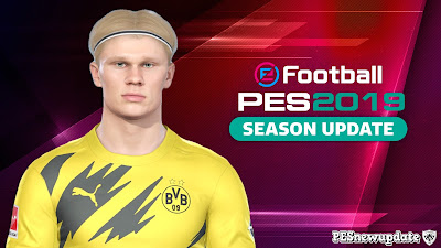 PES 2019 Faces Erling Haaland
