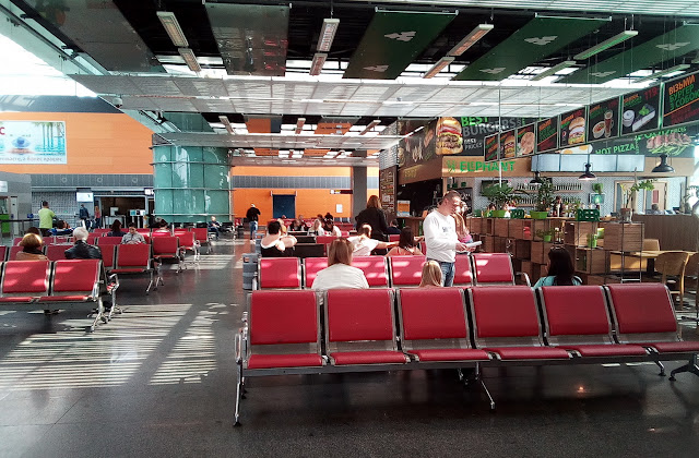 третий этаж терминала D