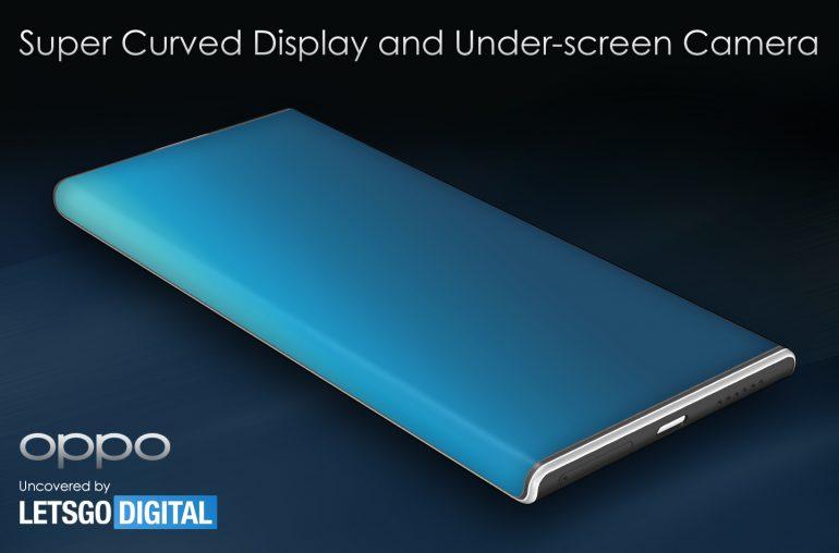 OPPO al lavoro su uno smartphone con display super curvo e fotocamera nascosta