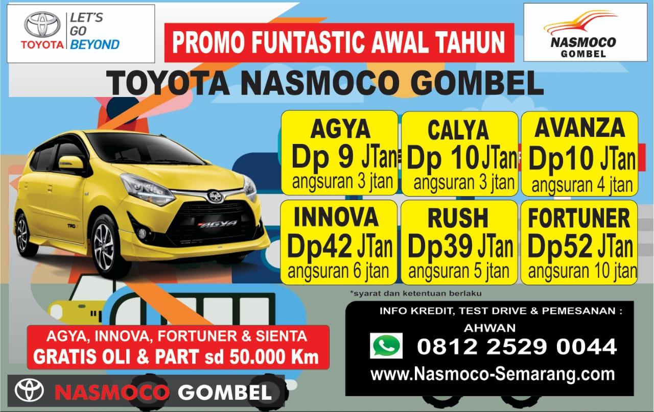 Promo Awal Tahun Toyota Nasmoco Gombel Semarang Nasmoco Toyota Gombel Semarang