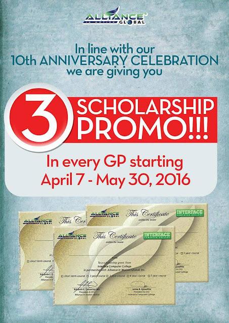 scholarship promo