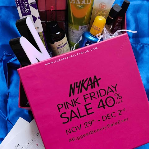 Nykaa Pink Friday Sale 2019 PR BOX Unboxing - Up to 40% off