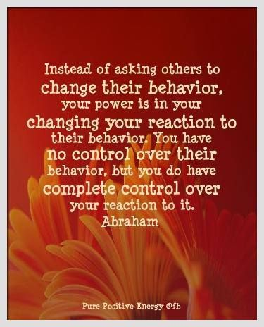 Can people change their behavior