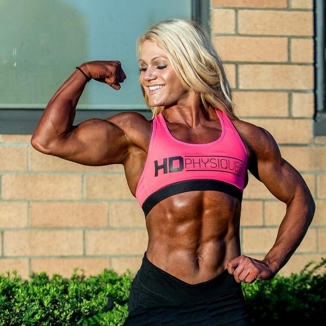 Years taylor edias bodybuilding strong girl abs