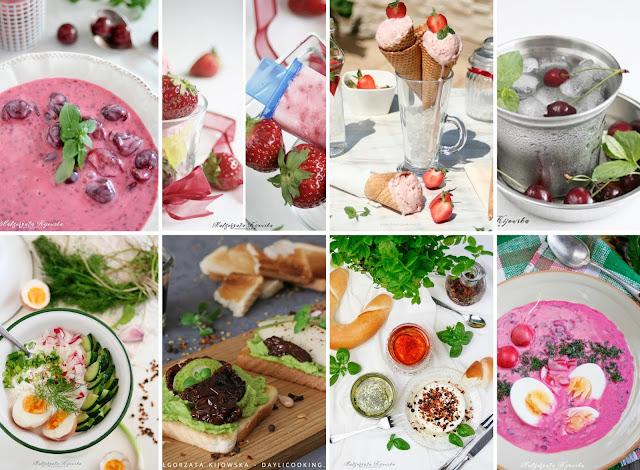 dania na lato, letnie desery, przepis na domowe lody, jak zrobić chłodnik