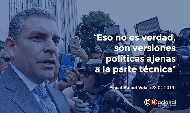 fiscal Rafael Vela rechazando que el exsuperintendente de Odebrecht en el Perú