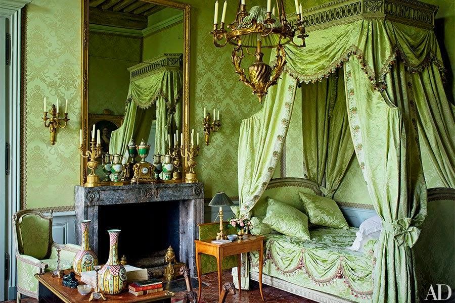 Decor Inspiration La renaissance du chteau  Grand Interiors  Cool Chic Style Fashion