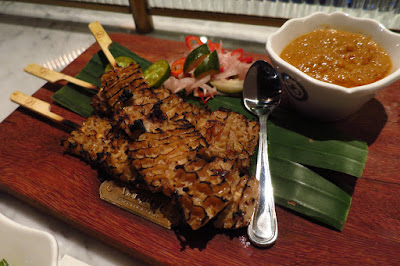 Violet Oon Satay Bar & Grill, tripe satay