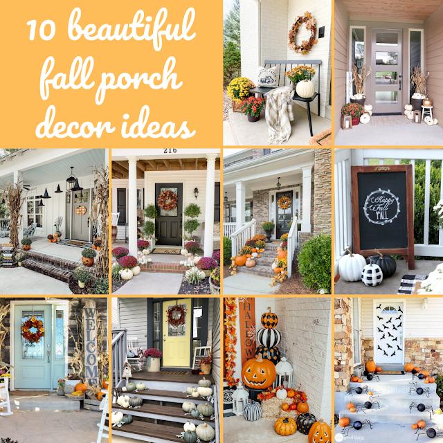 10 beautiful fall porch decor ideas