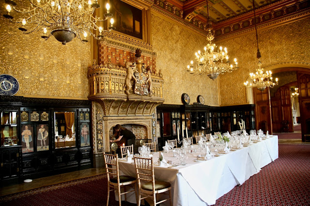 The Venetian Drawing Room, Carlton Towers, Yorkshire