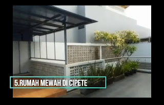 rumah termahal di Indonesia cipete