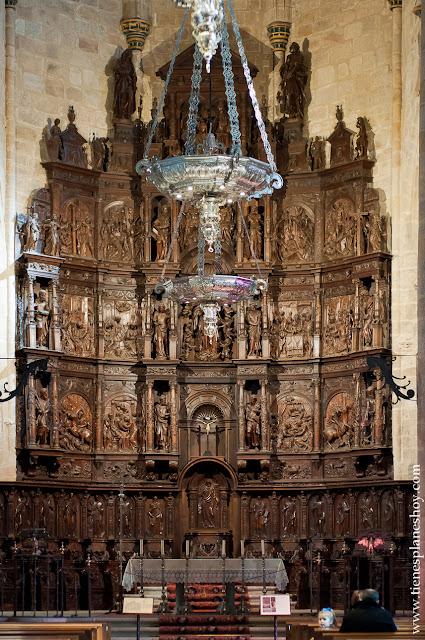 Interior Retablo Concatedral Caceres