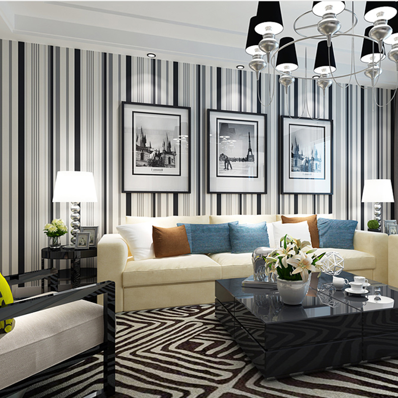 70 Motif Wallpaper Pilihan Untuk Dinding Ruang Tamu